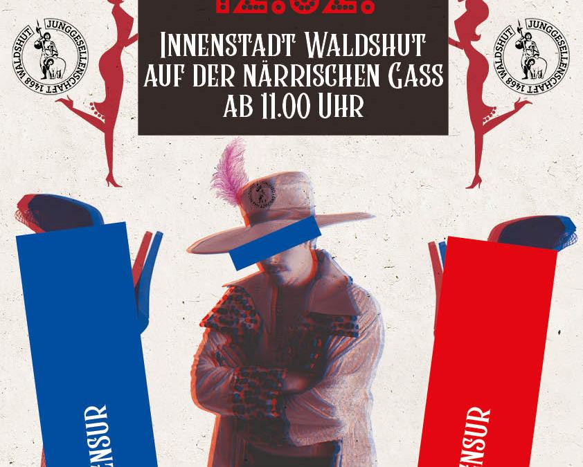 Hamburg an der Waldshuter Fasnacht